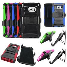 Phone Case For Samsung Galaxy S7 Edge 4G LTE G935 Holster Rugged Cover Stand