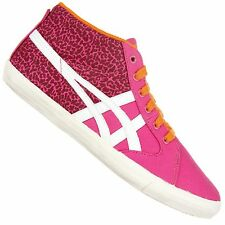 ASICS ONITSUKA TIGER FARSIDE MID TOP TRAINERS SHOES MEXICO 66 PINK LEOPARD NEON