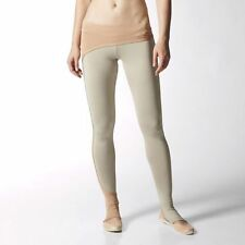 Stella McCartney By Adidas Womens Studio Performance Tight M61538 Beige Gym Run