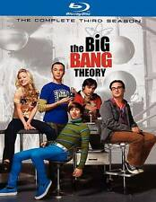 BIG BANG THEORY SEASON 3 (Blu-ray, 2010, 2-Disc Set) NEW