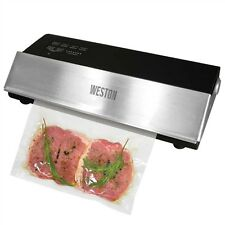Pro Commercial Food Vacuum Sealer Weston Meat Saver Freezer Storage Marinate Bag