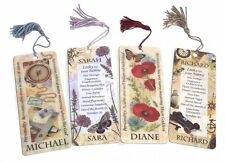 History & Heraldry 3D Personalised Bookmarks - Names: A - J