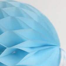 Baby Blue color tissue paper Honeycomb - wedding party decorations