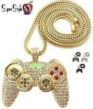 Modern Warfare 3 Game Controller Crystal Pendant Franco Hip Hop Iced Out Chain