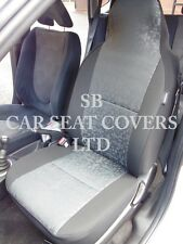 TO FIT A CHRYSLER 300C CAR SEAT COVERS PETROL RETRO GREY CLOTH