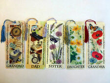 History & Heraldry 3D Personalised Bookmarks - Names: S - Relations and sundry