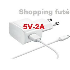 KIT Chargeur secteur+Cable Micro USB pour samsung,nokia,lg,acer,sony,blackberry.