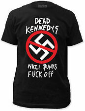 DEAD KENNEDYS NAZI PUNKS F OFF FITTED JERSEY PUNK ROCK MUSIC BAND T SHIRT S-2XL