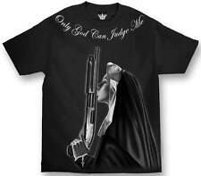 ONLY GOD CAN JUDGE ME SISTERS KEEPER  MENS SHIRT MAFIOSO CLOTHING CHICANO RAP