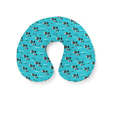 Fish Waves Travel Neck Pillow - Inflatable