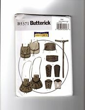 Historical Wrist Bracers, corset, belt and Pouches patterns