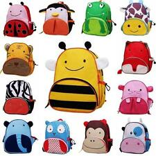 Hot Kids Children Cartoon Zoo Animal Shoulder Backpack Schoolbag Boy Girl Bags