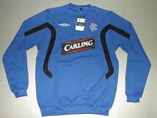 Training Sweatshirt Glasgow Rangers 09/10 Orig Umbro Size XL new blue