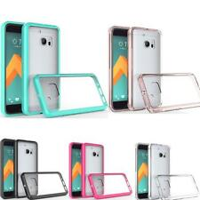 TPU + Acrylic Crystal Clear Anti-Scratch Cover Protective Case For HTC M10 New