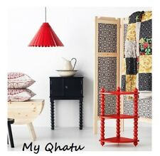 Ikea Pendant Lamp SHADE - Unique Ryssby Shade in Black Red and Beige