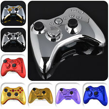 Chrome Full Housing Shell With Buttons Replacement Parts for Xbox 360 Controller