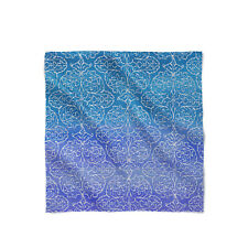Sparkling Damask Satin Style Scarf - Bandana in 3 sizes