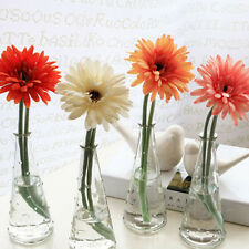 Simulation Fake Gerbera Daisy Silk Flower Bouquet Wedding Party Home Decorating