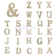 Bridal Shower Party Supplies Wooden Letter Alphabet Decor DIY Art Craft Supplies