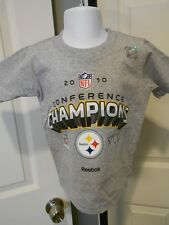 NEW Pittsburgh Steelers 2010 AFC Super Bowl XLV Toddler Sizes 2T-3T-4T Shirt