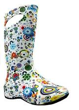 Cotswold Carnival Wellington Women's Circle Lightweight Pull On Welly Boots New