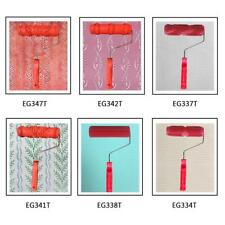 """7"""" Embossing Paint Roller Painting Brush Sleeve with Handle Wall Decor Tool"""
