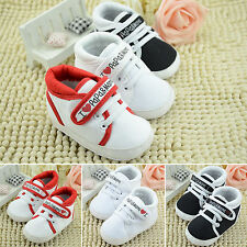 Baby Boy Girl Soft Sole Crib Shoes Non-slip Sneaker Trainer Newborn to 18 Months