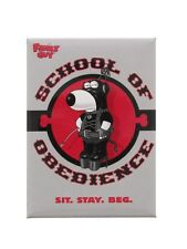 Family Guy School of Obedience Grey Magnet