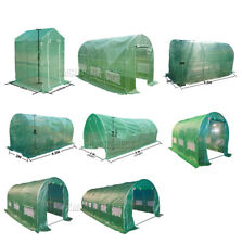 Greenhouse Polytunnel Normal / Fully Galvanised Frame Pollytunnel Poly Tunnel
