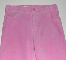 EUC Hartstrings girls 97% cotton adjustable-waist pink corduroy pants sz 7