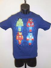 New Marvel Spiderman Captain America Hulk Ironman Youth Sizes M-L-XL Shirt
