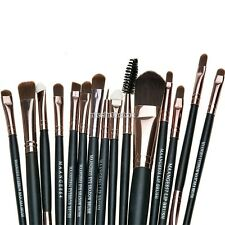 15 x Cosmetic Foundation Blending Brush Blush Kabuki Makeup Brushes Tool Set Kit