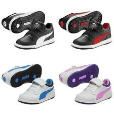 Puma Full Court Lo V Shoes Kids Trainers Childrens Sneakers Sports Shoes
