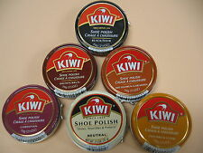 Kiwi Shoe Polish 2.5 oz.  Large Can -   All Colors available  - FREE SHIPPING