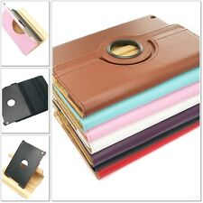 360 Degree Rotating PU Leather protect Case Cover Stand For Apple ipad mini LOT