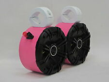 Kicker PINK Mini's. Wakeboard Tower Boat Roll Cage Speakers. UTV CAN AM RZR Jeep