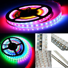 WS2812B 5050 RGB Flexible Strip Light 60 144 150 300 LED Individual Addressable