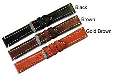 HIRSCH LIBERTY Leather Watch Band Regular Length