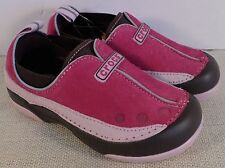 CROCS GIRL'S PINK DAWSON SLIP ON SHOES NEW WITH TAGS