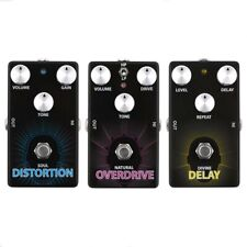 Lindo Electric Guitar Effects Pedals - Delay/ Distortion/ Overdrive