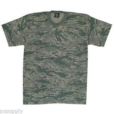 t-shirt abu tiger stripe air force camo usaf made in the usa fox outdoor 64-172