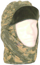 helmet liner cold weather hat various sizes army acu digital camo fox 77-147a