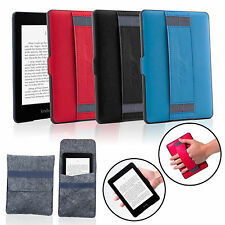 Slim Magnetic Leather Smart Case Cover Pouch Bag for Amazon Kindle Paperwhite