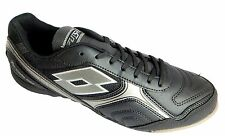 Lotto Futsal Orcida Xiii Tf Men's Black Lace Up Astroturf Football Boots New