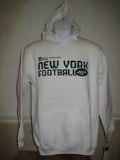 NEW- New York Jets Youth sizes S-L Reebok White Hoodie