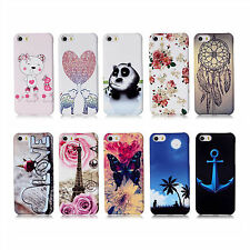 Boy Girl's Slim Hard Plastic Back Case Cover For Samsung Galaxy S4 S5 iPhone 5C