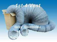 "200mm 8"" 6mtr COMBIFLEX, COMBI FLEX, FLEXIBLE DUCTING/FUME EXTRACT HOSE for Fans"