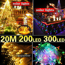 20M Party Christmas Lights Wedding Rope Light With Power Cord Waterproof New