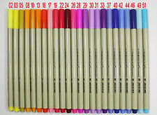 16/24/48 Colors Finecolour EF300 0.3mm Sketch Fine Liner Pen Drawing PaintingSet