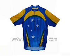 New Barbedo Brazil Team Cycling Jersey UV Protection tech dry all sizes reg:$60